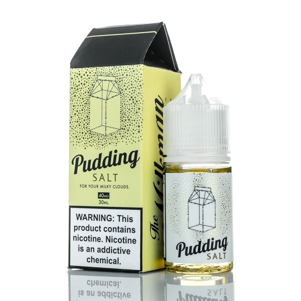 LIQUIDO SALT NIC PUDDING - THE MILKMAN