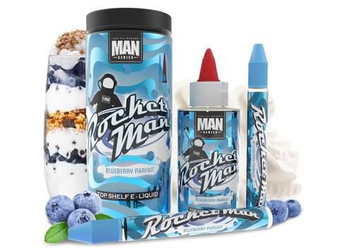 ROCKET MAN SALT NIC - 100ML - MAN SERIES