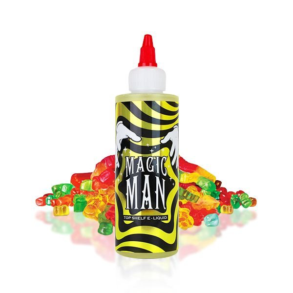 MAGIC MAN SALT NIC - 100ML - MAN SERIES PROMOÇÃO BLACK FRIDAY