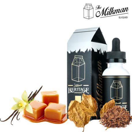 E-LIQUID HERITAGE SMOOTH MAX VG, 60ml - The Milkman