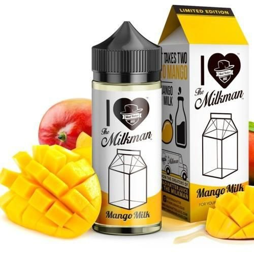 E-LIQUID MANGO MILK 100ML 6mg - THE MILKMAN