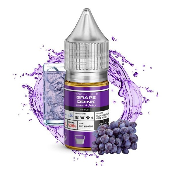 LIQUIDO BASIX SERIES SALT NIC GRAPE DRINK  - GLAS