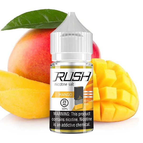 LIQUIDOS SALT NIC  RUSH - MANGO 30ML
