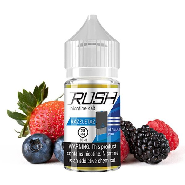 LIQUIDOS SALT NIC  RUSH - RAZZLETAZ 30ML