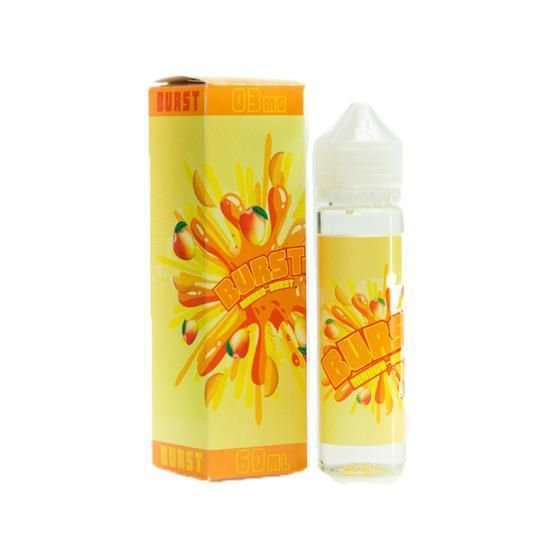 BURST MANGO -  BURST E-JUICE (60 ML) 3MG