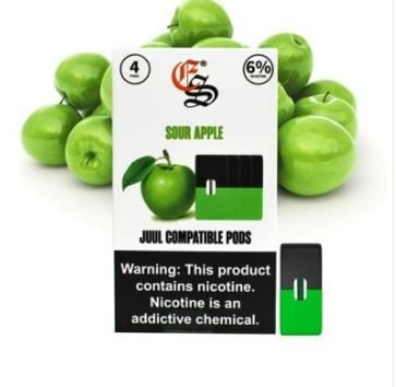 REFIL EONSMOKE SOUR APPLE 6%