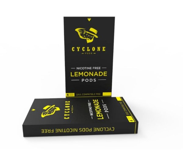 CYCLONE PODS LEMONADE - SEM NICOTINA