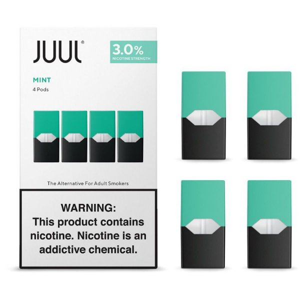 REFIL JUUL (PACK OF 4) MINT 3% NICOTINA