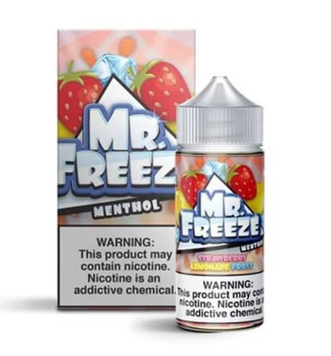 LIQUIDO MR. FREEZE STRAWBERRY LEMONADE - FROST - 3MG NICOTINA - 100ML