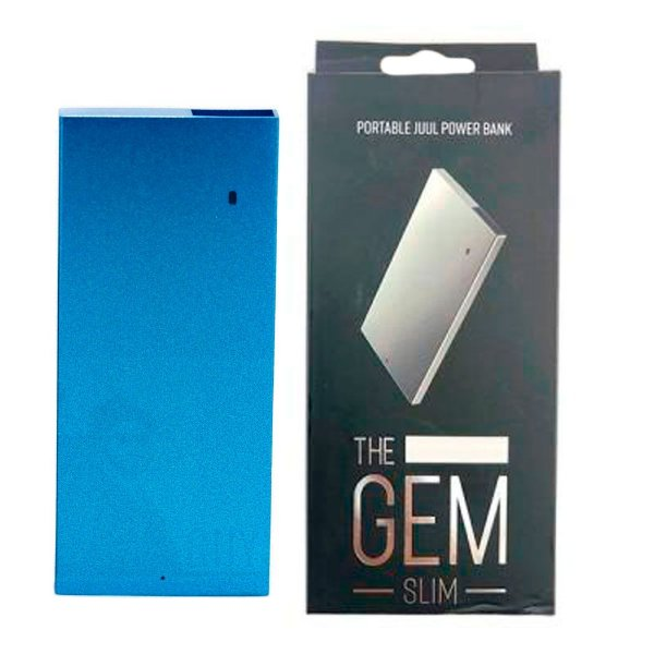 CARREGADOR PORTATIL JUUL THE GEM - SLIM - 1000 mAh