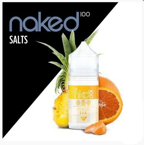 LIQUIDOS SALT NIC - NKD 100 - MAUI SUN