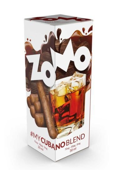 LÍQUIDO ZOMO - MY CUBANO BLEND E-JUICE 60ML - 3MG NICOTINA