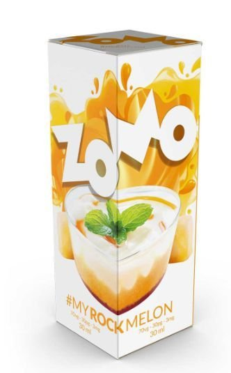 LÍQUIDO ZOMO - MY ROCK MELON E-JUICE 60ML - 3MG NICOTINA