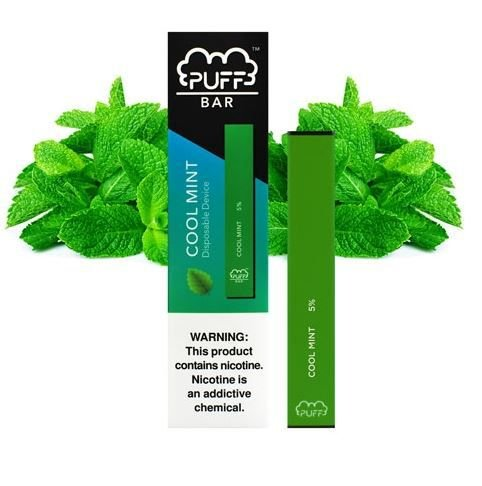 PUFF BAR - DISPOSABLE POD DEVICE - DESCARTAVEL- COOL MINT