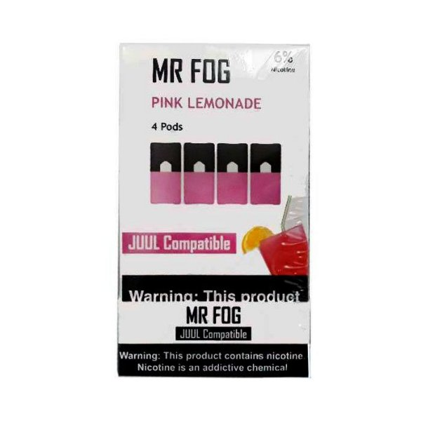 MR FOG PINK LEMONADE- JUUL COMPATIBLE