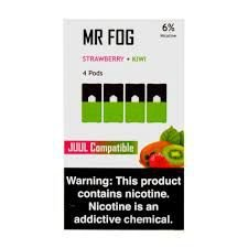 MR FOG STRAWBERRY+KIWI - JUUL COMPATIBLE