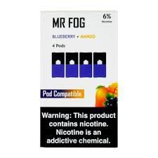 MR FOG BLUEBERRY+MANGO - JUUL COMPATIBLE