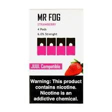 MR FOG STRAWBERRY- JUUL COMPATIBLE