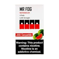 MR FOG WATERMELON- JUUL COMPATIBLE