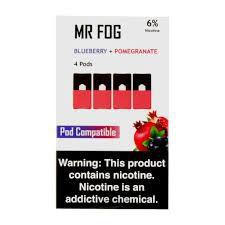 MR FOG BLUEBERRY+POMEGRANATE- JUUL COMPATIBLE