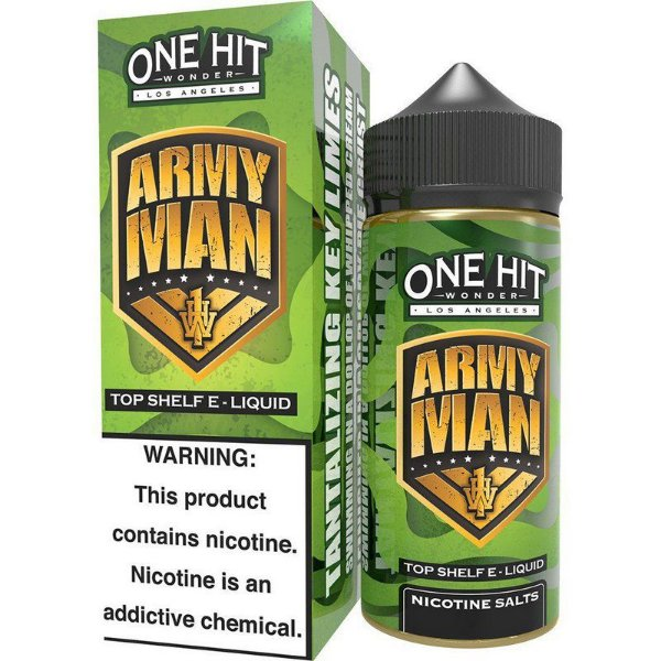 Líquido Army Man - One Hit Wonder e-Liquid SALT 30 ML