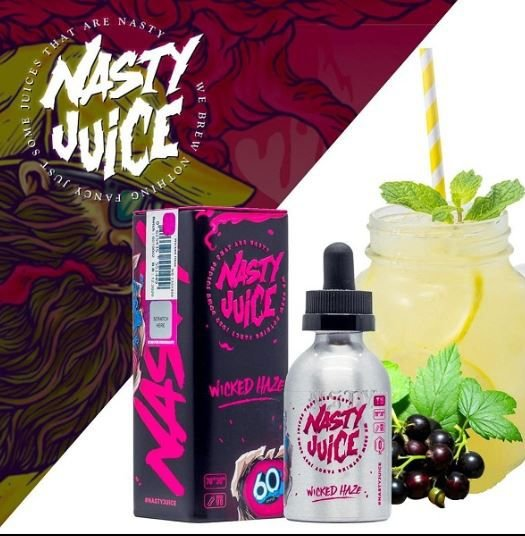 LIQUIDO NASTY JUICE WICKED HAZE 60ML - 3MG NICOTINA