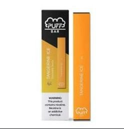 PUFF BAR - DISPOSABLE POD DEVICE - DESCARTAVEL- TANGERINA ICE