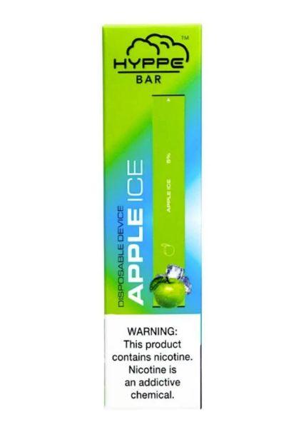 HYPPE BAR - DISPOSABLE POD DEVICE - DESCARTAVEL- APPLE ICE (maçã verde)