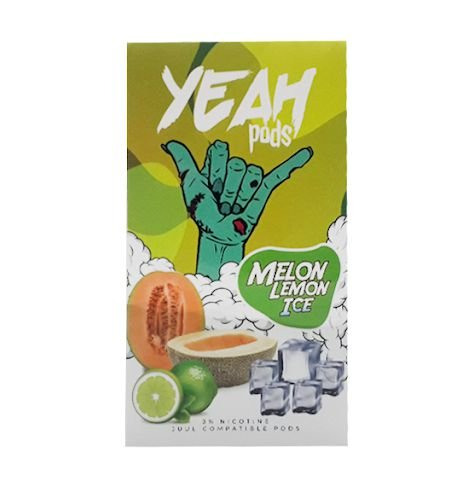 YEAH PODS - MELON LEMON ICE - COMPATÍVEL COM JUUL