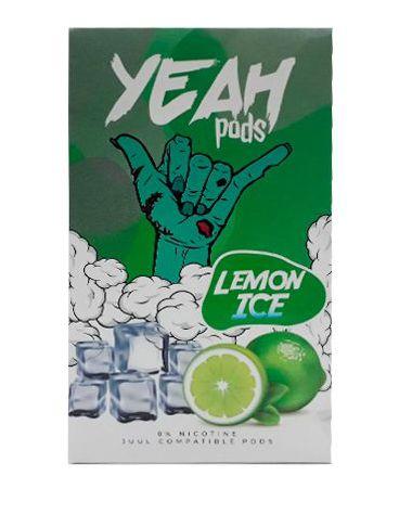 YEAH PODS - LEMON ICE- COMPATÍVEL COM JUUL