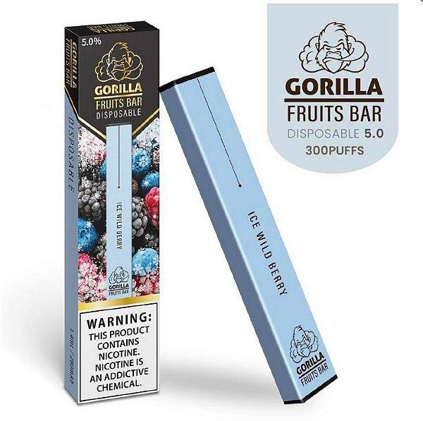 GORILLA FRUITS BAR -  DESCARTAVEL - ICE WILD BERRY