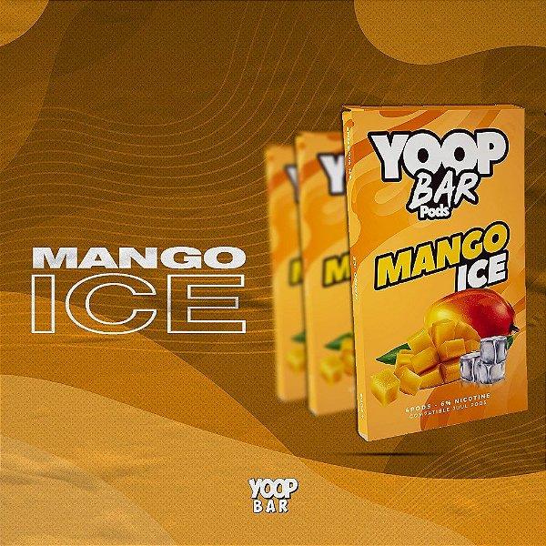 YOOP BAR POD MANGO ICE 60MG SALT NIC - COMPATÍVEL COM O JUUL