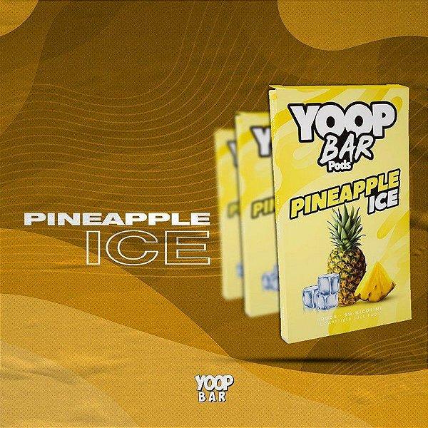 YOOP BAR POD PINEAPPLE ICE 60MG SALT NIC - COMPATÍVEL COM O JUUL