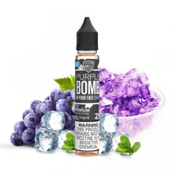 Juice - Vgod - Purple Bomb Iced - 60ml
