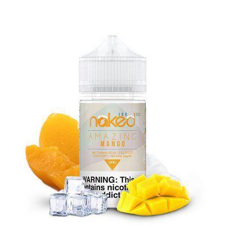 LIQUIDO NAKED 100 ICE - AMAZING MANGO - 60ML