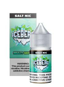 LIQUIDO ICEBERG VAPORS SALT NIC 35MG- MULTI MINT - 30ML