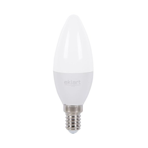 Lâmpada LED Vela 5W  E-14 Dimerizável - Eklart