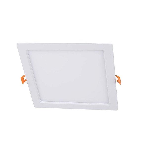 Painel de Embutir Quadrado LED Bivolt  6W - Eklart