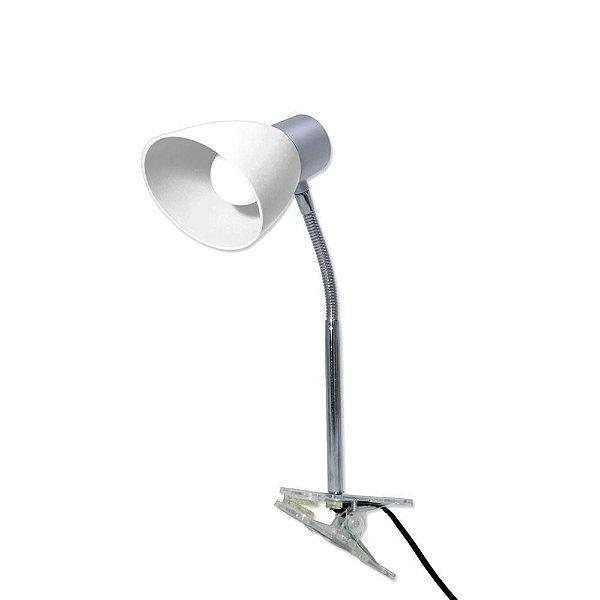 Luminária LED de Garra com Lâmpada de Led 3W