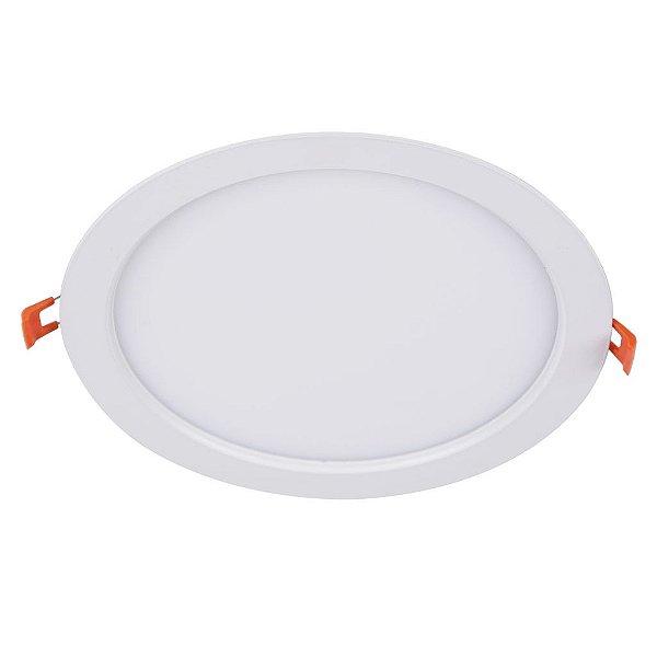 Painel de Embutir Redondo  LED 6W  Bivolt - Eklart