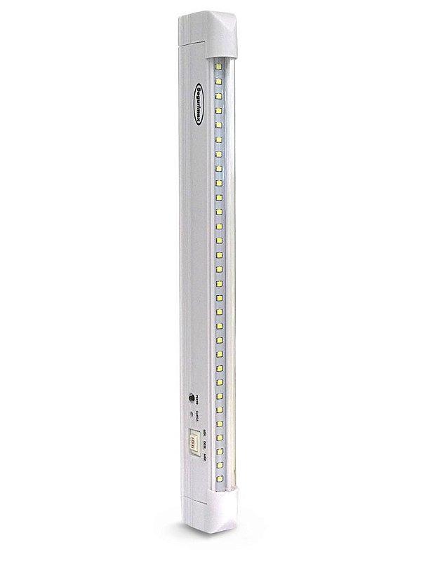 Iluminação de Emergência 30 Leds Super Slim Tubular- 25923