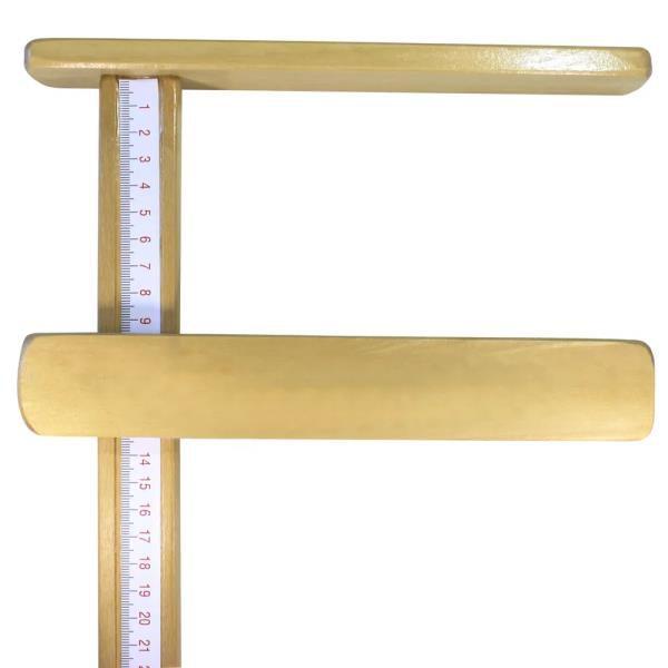 Régua Antropométrica Madeira Infantômetro - 100CM - INDAIÁ
