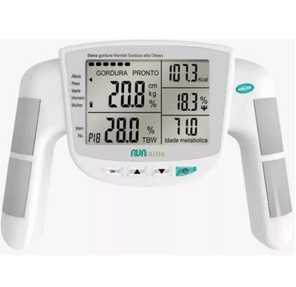 Monitor/Analisador de Gordura por Bioimpedância - AVANUTRI