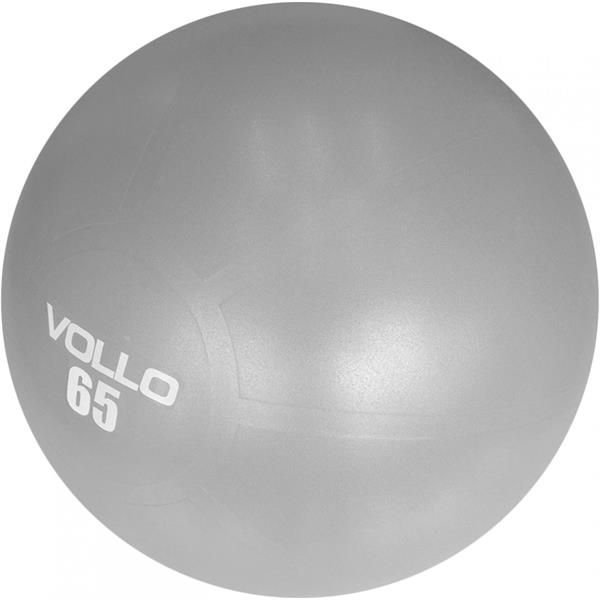 Bola Suiça Gym  Ball 65 cm Cinza - VOLLO