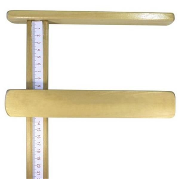 Infantômetro/Régua Antropométrica Madeira - 100CM - INDAIÁ