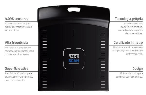 Baropodômetro - BAROSCAN