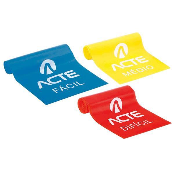Faixa Elástica - Kit com 3 - ACTE T13