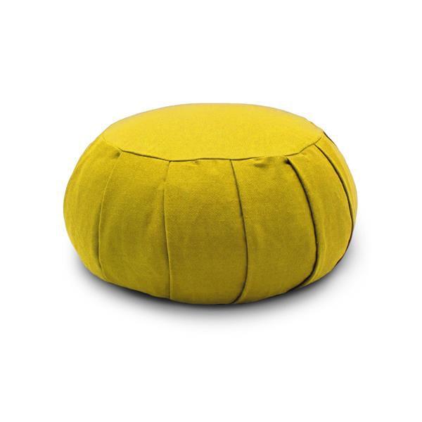 ZAFU Almofada Meditação - Grande - Amarelo - BIOPULSE