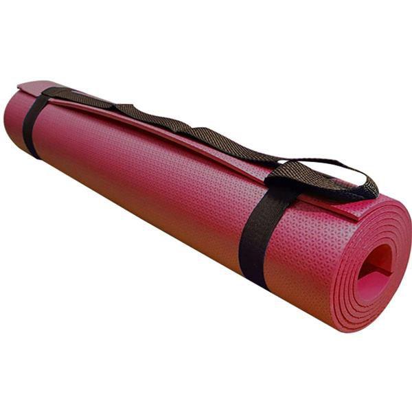 Yoga Mat Tapete para Yoga - Vermelho - EVAMAX