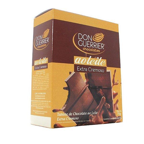 Tablete Chocolate ao Leite Extra Cremoso - Caixa com 3